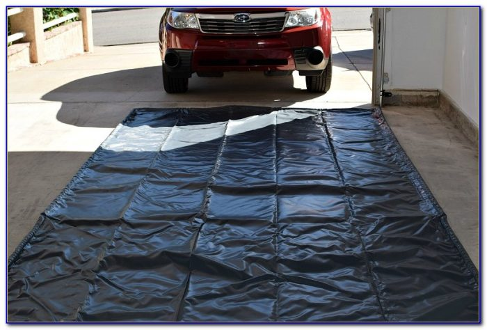 Garage floor containment parking mats flooring home