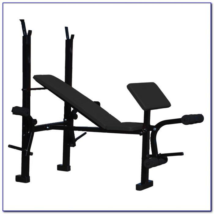 Fitness Gear Weight Bench Set