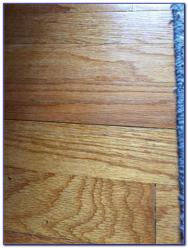 Fix Wood Floor Scratches