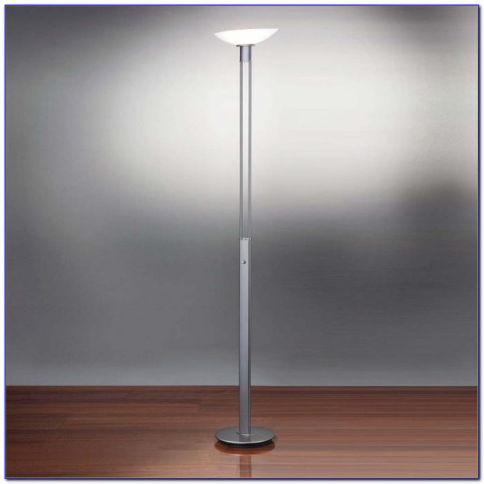 Floor Lamp With Dimmer Switch And Adjustable Arm