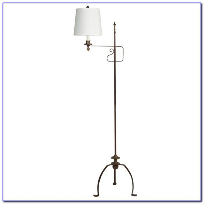 Floor Lamps Black Wrought Iron