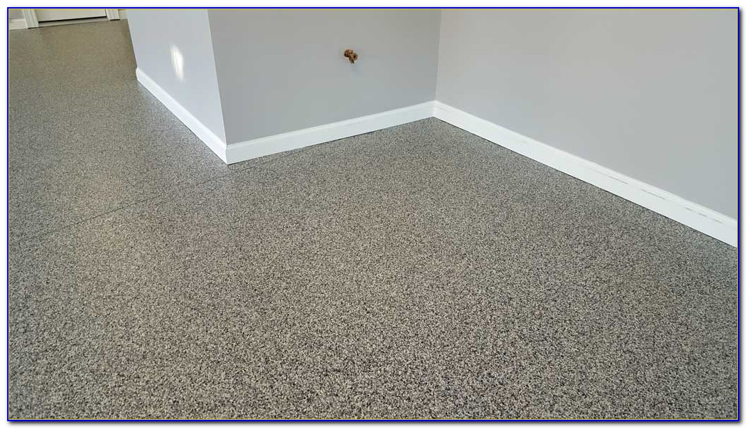 Garage Floor Epoxy Color Flakes