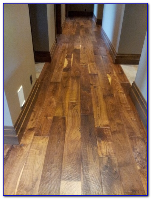 Hand Scraped Wide Plank Hardwood Flooring