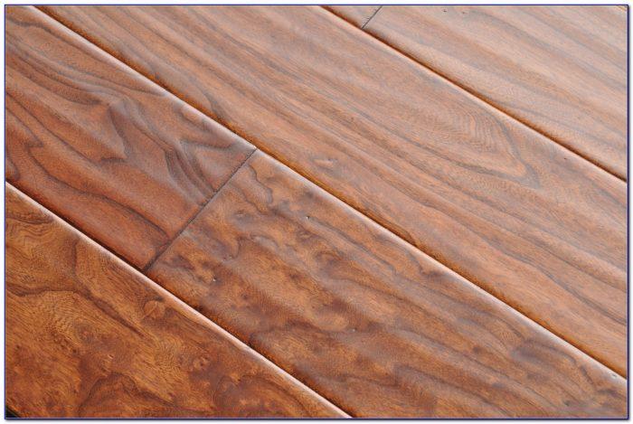 Handscraped Engineered Wood Flooring Hickory