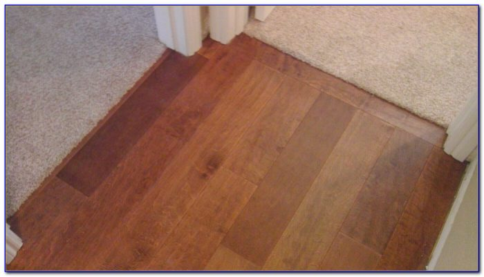 Hardwood Floor Transition Strips