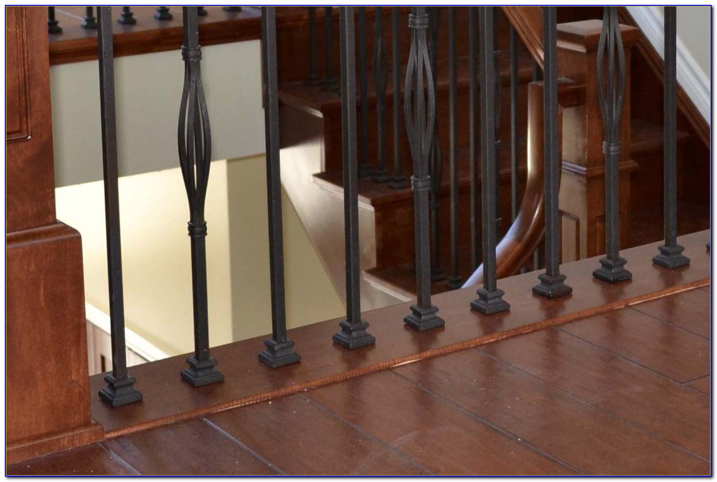 Hardwood Flooring Stair Nosing Installation