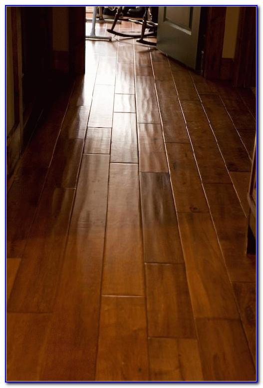Hardwood Hand Scraped Flooring
