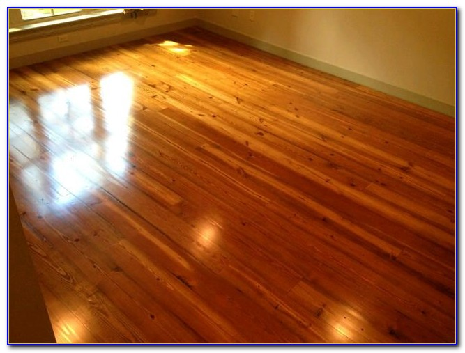 Heart Of Pine Flooring Installation