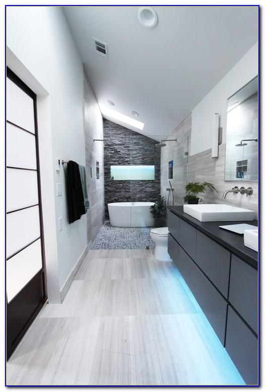Heated Floor In Bathroom