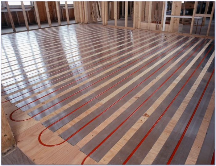 Retrofit Radiant Floor Heating Slab Flooring Home