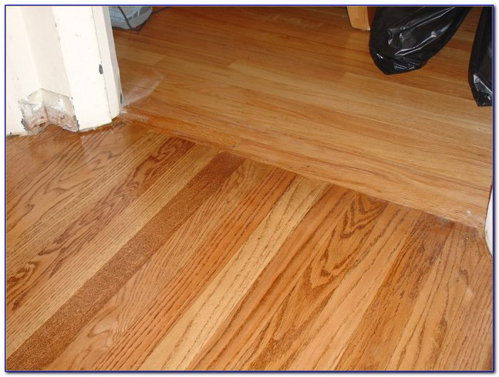 Installing Hardwood Floor Transition Strips