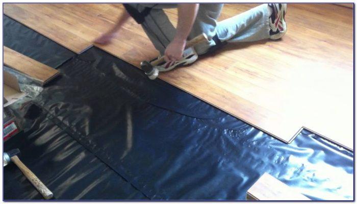 Installing Vapor Barrier Under Laminate Flooring