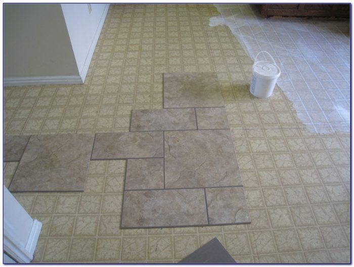 Self Stick Floor Tiles On Concrete: Installing Vinyl Floor Tiles In Bathroom