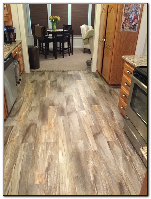 Installing Vinyl Snap Together Flooring