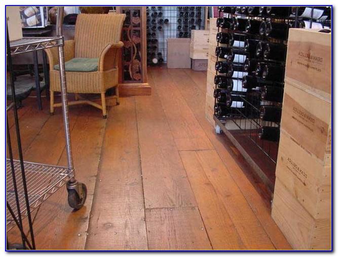 Installing Wide Plank Fir Flooring