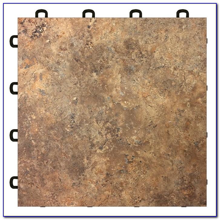 Interlocking Vinyl Floor Tile Checker Plate