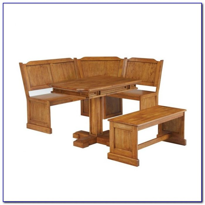 Kitchen Dining Corner Seating Bench Table With Storage