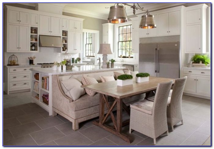 Kitchen Table With Bench Chairs