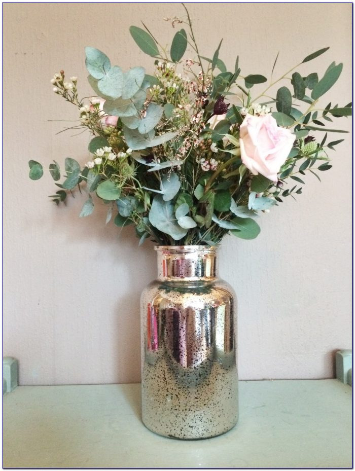 Large Glass Decorative Vases