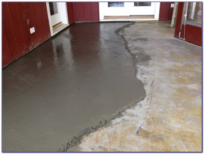 Leveling A Basement Floor For Tile