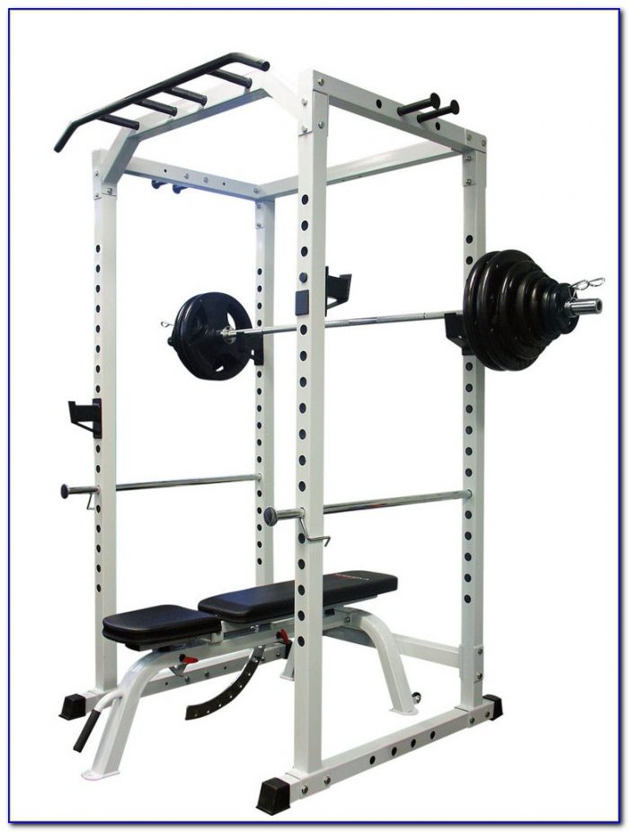 Marcy Olympic Weight Bench Set