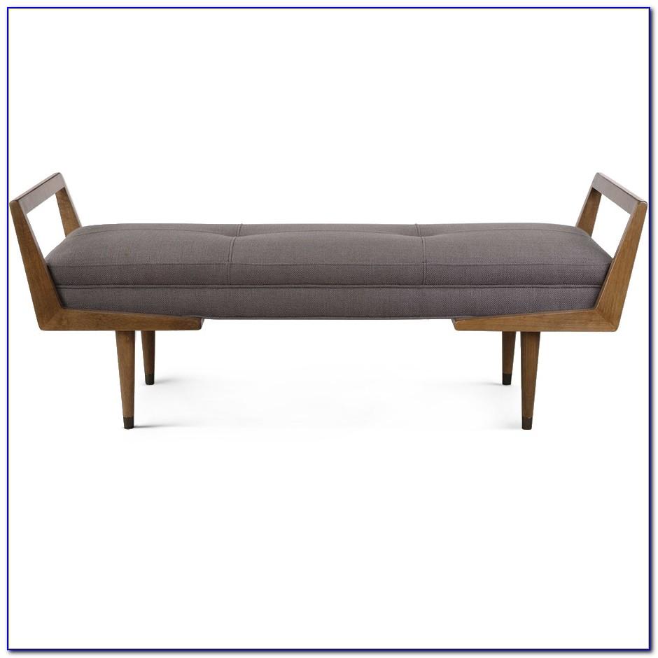 Mid Century Modern Bench Target