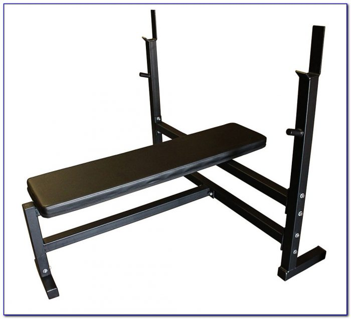 Olympic Weight Bench Set Ebay