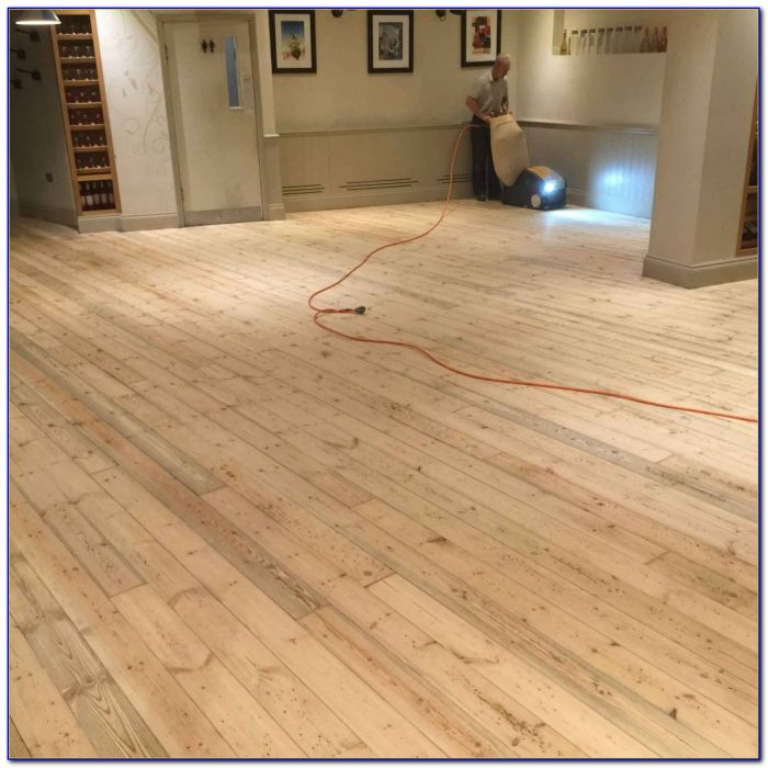 Sanding And Finishing Wooden Floors