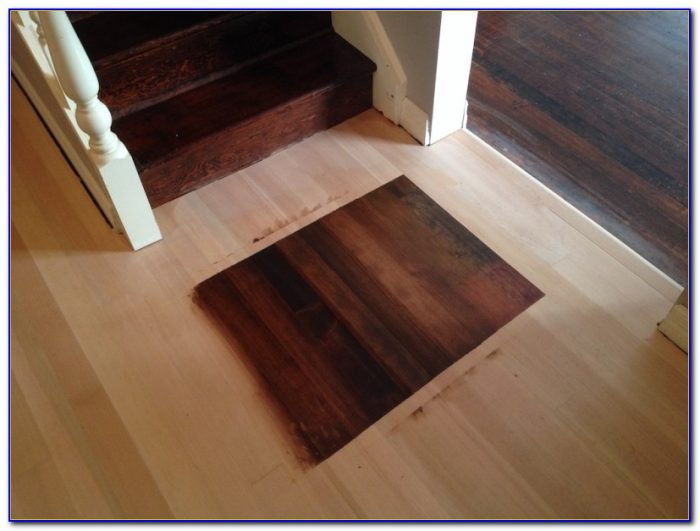 Sanding And Staining Wood Floors