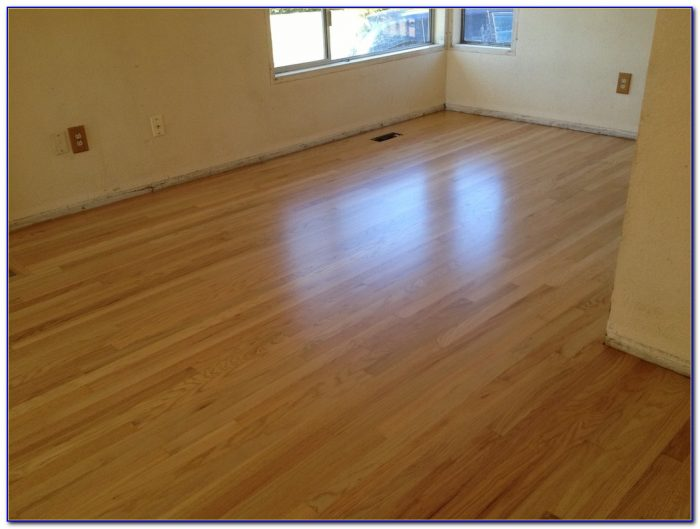 Sanding And Staining Wooden Floors