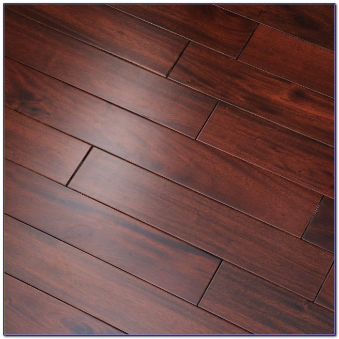 Santos Mahogany Solid Wood Flooring