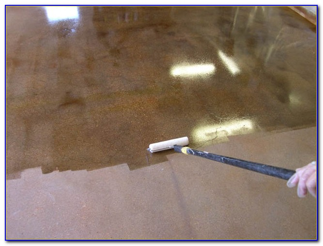 Sealer For Concrete Floor