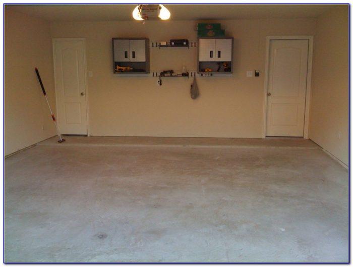 Sealing A Concrete Garage Floor