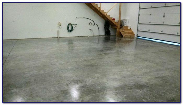 Sealing A Concrete Garage Floor With Pva