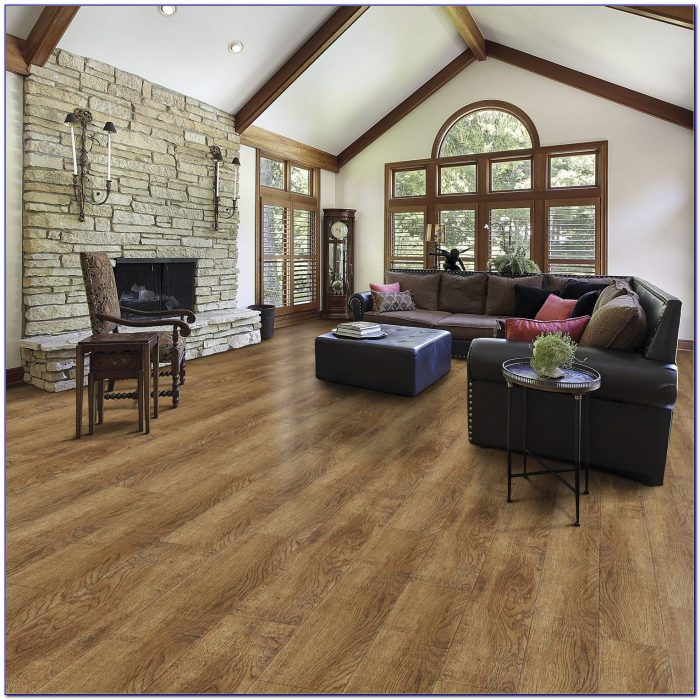 Select Surfaces Click Laminate Flooring Canyon Oak