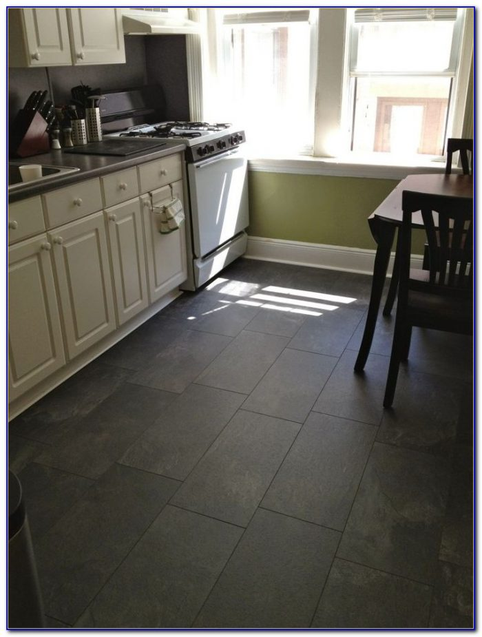 Slate Floor Kitchen Ideas