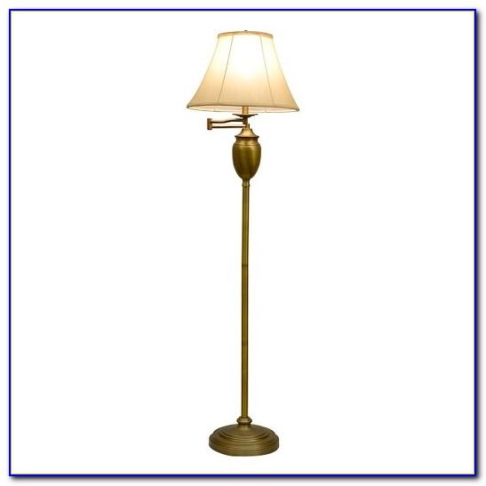 Polished Brass Swing Arm Floor Lamp Flooring Home