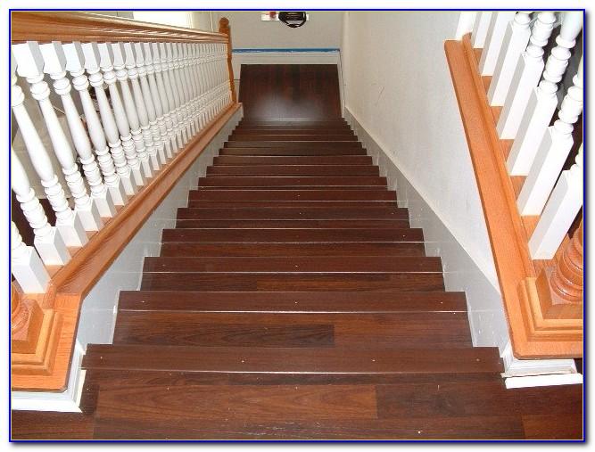 Solid Wood Flooring Stair Nosing