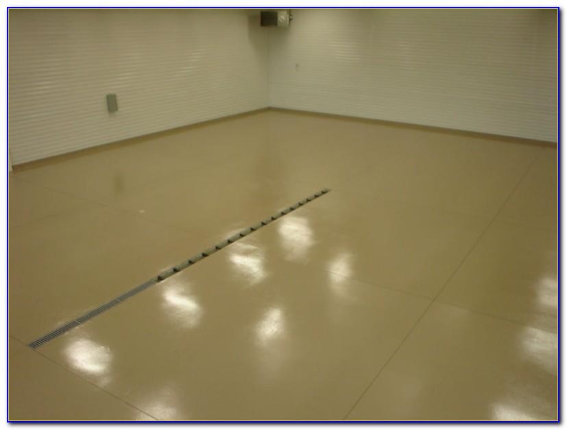 Speckled Concrete Floor Paint