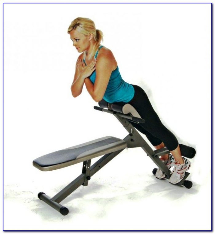 Sports Authority Adjustable Weight Bench