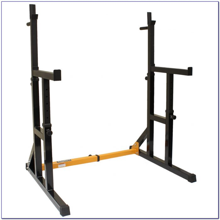 Squat And Bench Press Rack