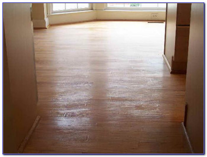 Staining Floors Without Sanding