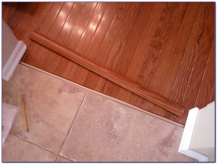 Tile Hardwood Floor Transition Strips