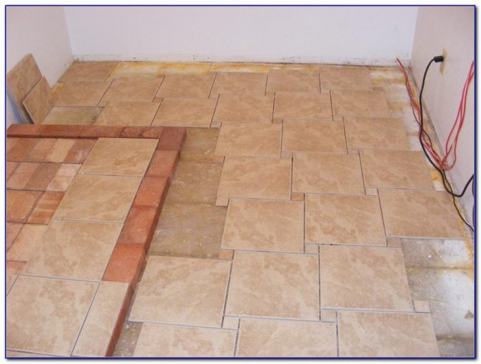 Tile Patterns For Kitchen Floors