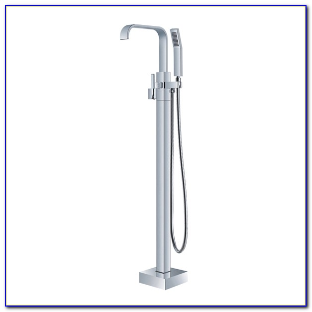 Tub Faucet Floor Mount