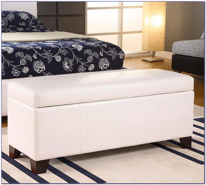 Upholstered Bench Seat With Storage