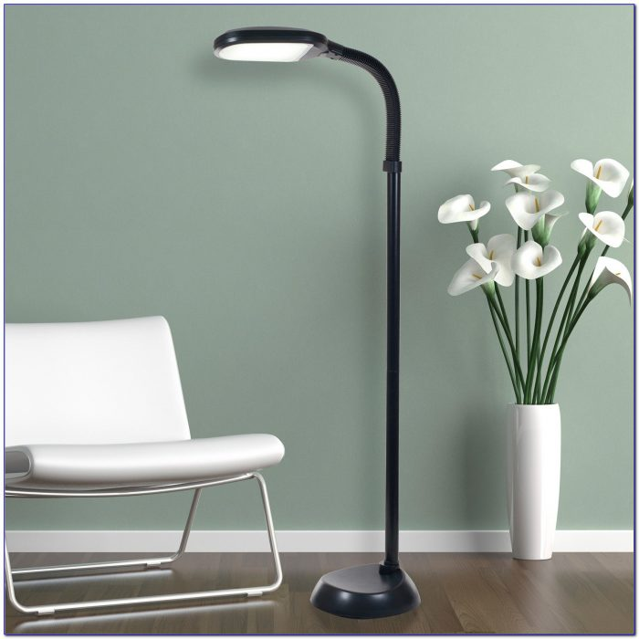 Uplighter Floor Lamp With Dimmer Switch