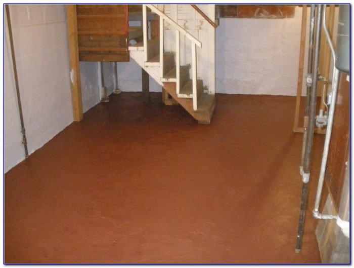 Using Epoxy Paint Basement Floor