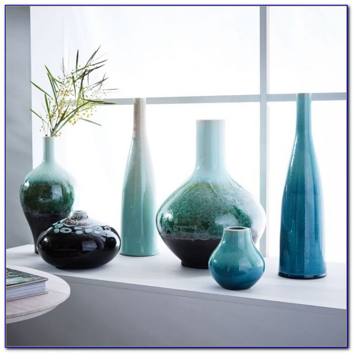 Very Tall Glass Floor Vases