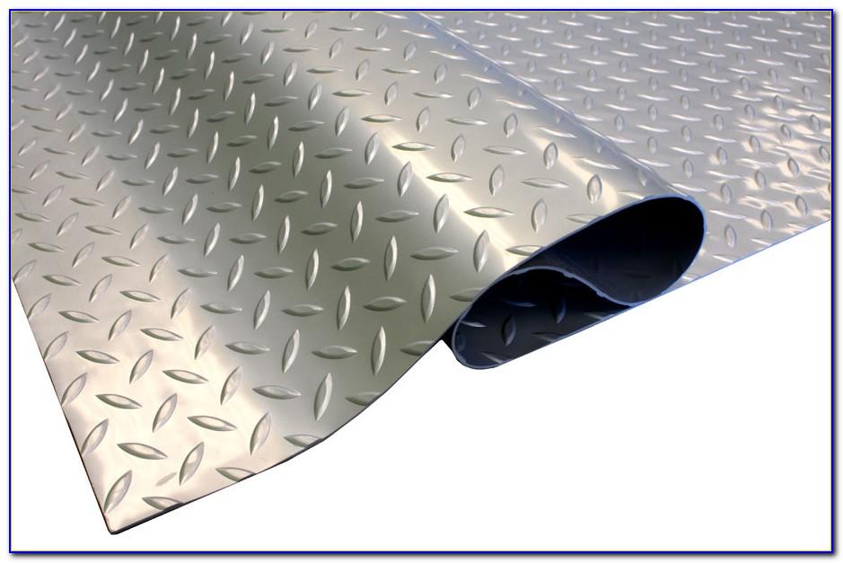 Vinyl Diamond Plate Garage Flooring